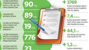 Działalność inspekcji pracy w 2013 roku