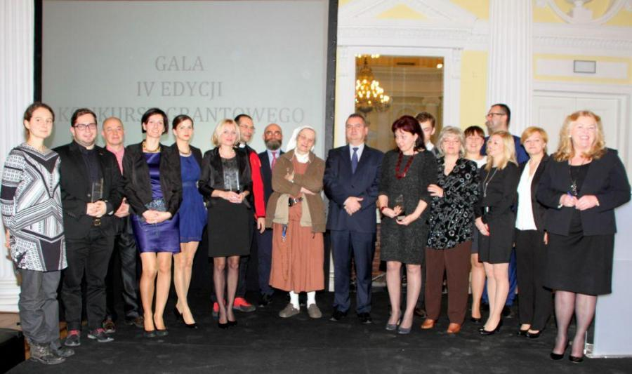 Gala IV edycja Konkursu Grantowego Funduszu Społecznego Notariatu