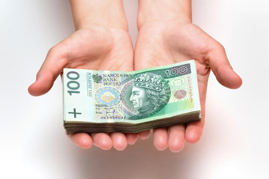 pieniądze, złoty, waluty