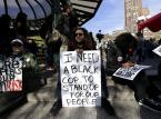 Nowy Jork: Kilkaset osób protestowało przeciwko działaniom policji