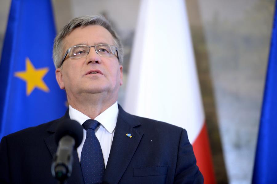 Prezydent Bronisław Komorowski, PAP/Jacek Turczyk