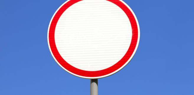 zakaz ruchu