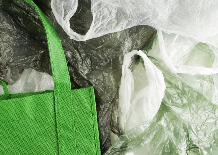 plastikowa torba, reklamówki