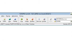 RESET2: Program R2księga - widok ogólny