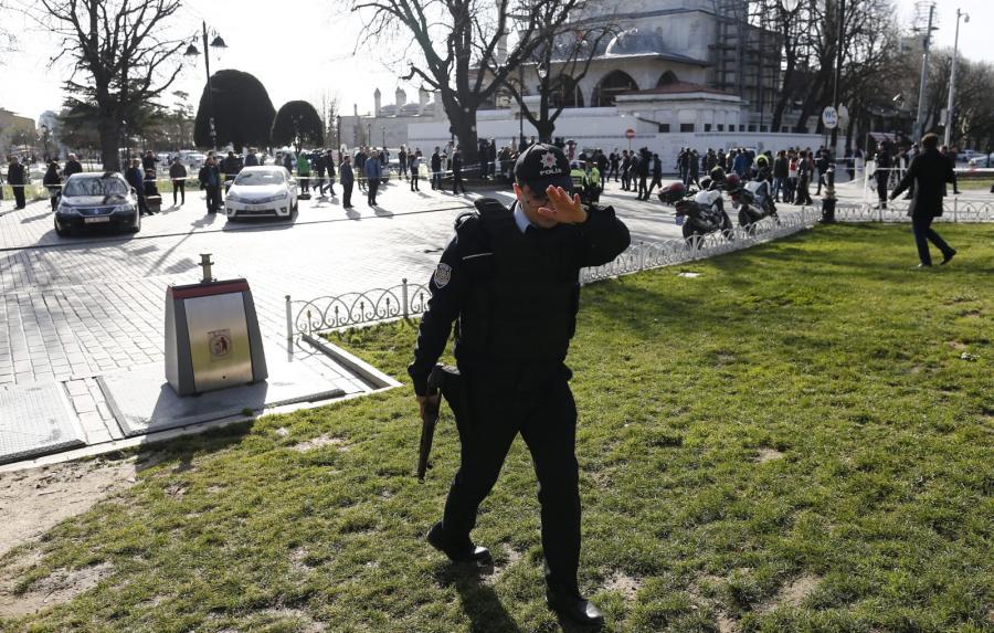 Zamach w tureckim Stambule