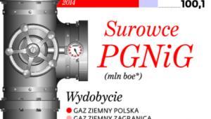 Surowce PGNiG