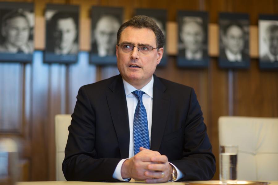Thomas Jordan, przewodniczący rady dyrektorów Szwajcarskiego Banku Narodowego