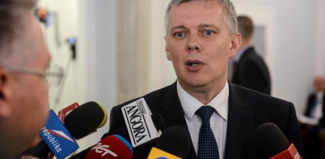 Wiceprzewodniczący Platformy Obywatelskiej Tomasz Siemoniak