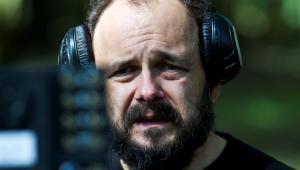 Arkadiusz Jakubik na planie filmu Prosta historia o morderstwie