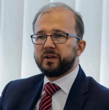 dr Piotr Dardziński wiceminister nauki i szkolnictwa wyższego