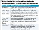 Banki nadal udzielają kredytów na oświadczenie