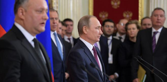 Igor Dodon, prezydent Mołdawii, wygrał ostatnie wybory dzięki antyoligarchicznym i prorosyjskim hasłom