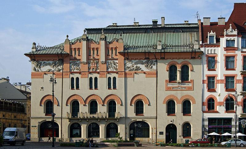Stary Teatr w Krakowie, fot. Zygmunt Put / lic. cc-by-sa