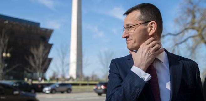 Jednym z tematów, jakie Mateusz Morawiecki, minister rozwoju, poruszy w rozmowach z administracją prezydenta Donalda Trumpa, jest import gazu skroplonego do Polski