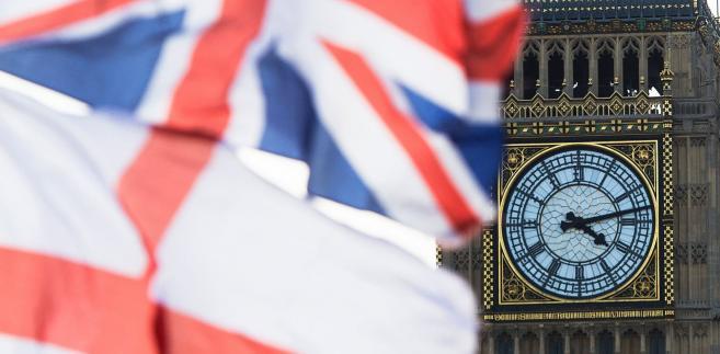 Big Ben i brytyjska flaga