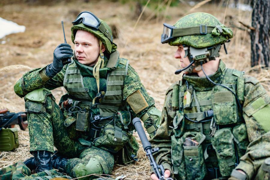 rosyjski żołnierz wojsko Rosja