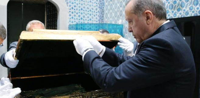 Prezydent Turcji Recip Erdogan
