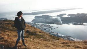 On the rock... fot. Catherine Poulain, publikacja za uprzejmą zgodą autorki