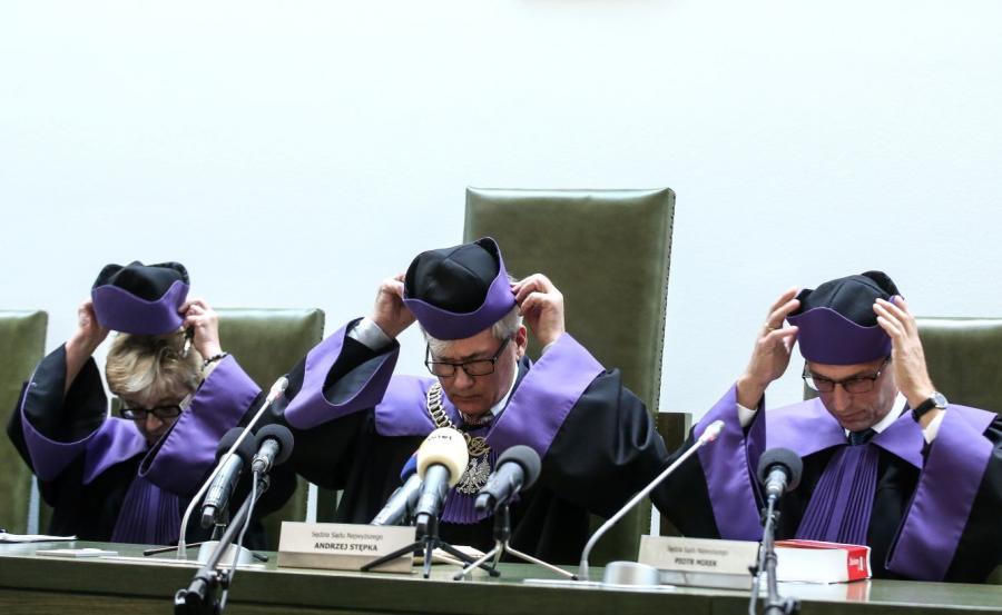 Troje sędziów Sądu Najwyższego