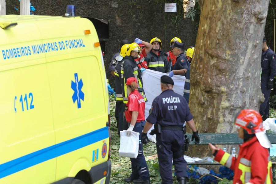Wypadek na Maderze