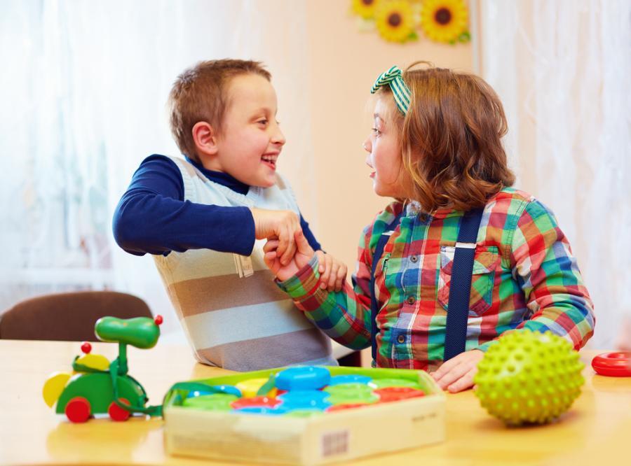 niepełnosprawne dzieci