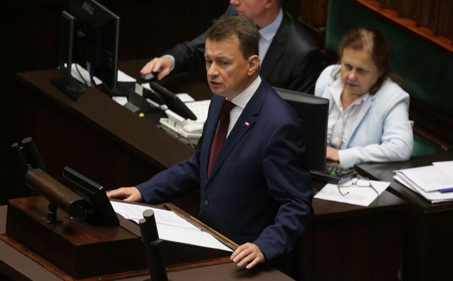 Mariusz Błaszczak w Sejmie