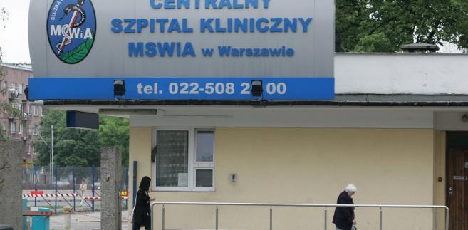 Szpital Kliniczny MSWiA przy ul. Wołoskiej w Warszawie