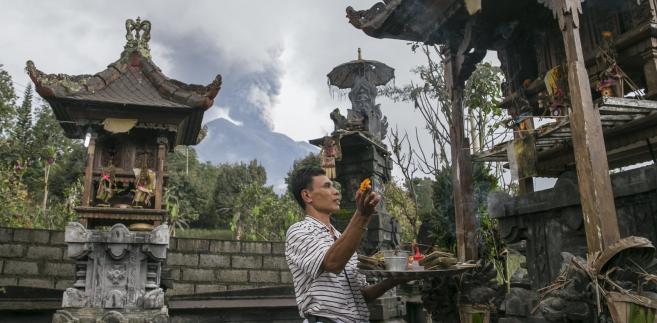Wulkan Agung grozi erupcją