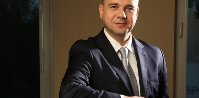 Bartłomiej Chmielowiec, rzecznik praw pacjenta. Fot. Kluczek/materiały prasowe