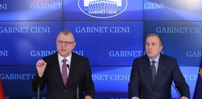 Grzegorz Schetyna i Kazimierz Michał Ujazdowski