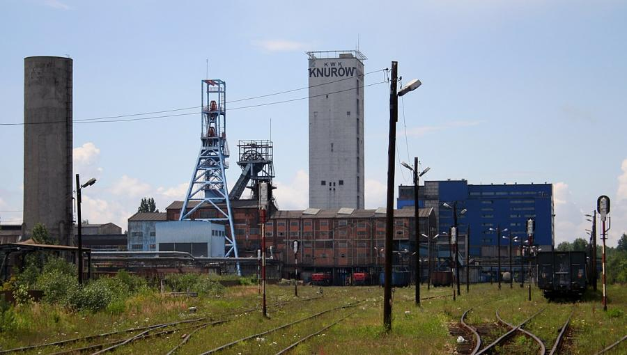 Kopalnia węgla Knurów-Szczygłowice. Fot. By Przykuta CC BY-SA 3.0
