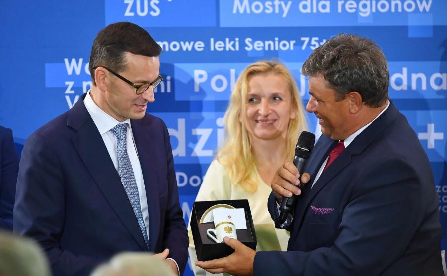 premier Mateusz Morawiecki w Ostrowcu