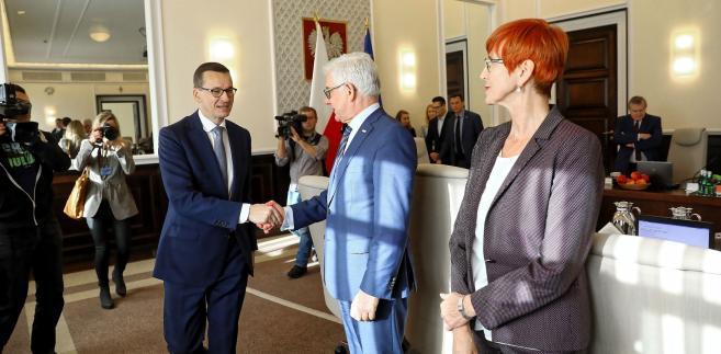 Kopcińska: premier ws. wokół KNF dopełnił wszystkich formalności, jakie powinien podjąć