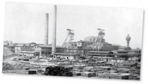 Zdjęcie kopalni Knurów z 1922 r.