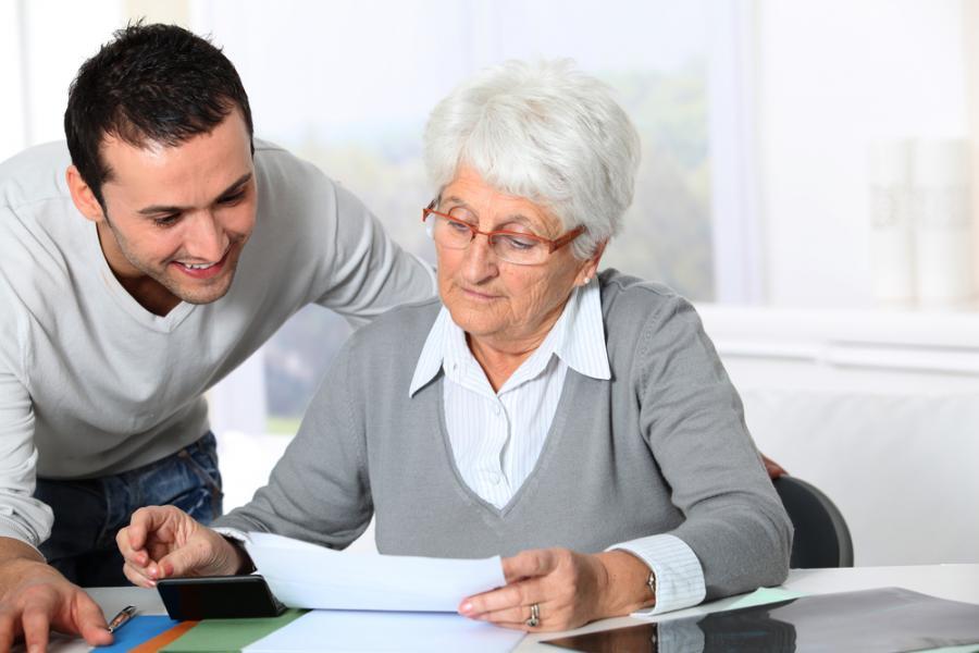 emeryt, starsza osoba, praca