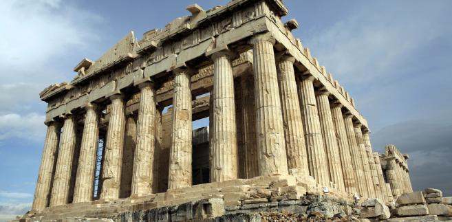 Partenon, jeden z najstarszych greckich zabytków.