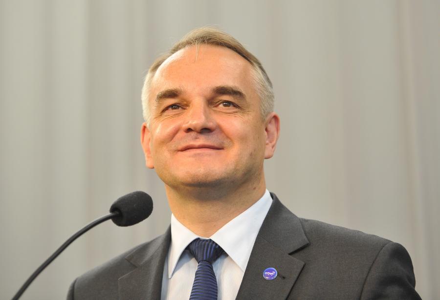 Waldemar Pawlak, szef PSL.
