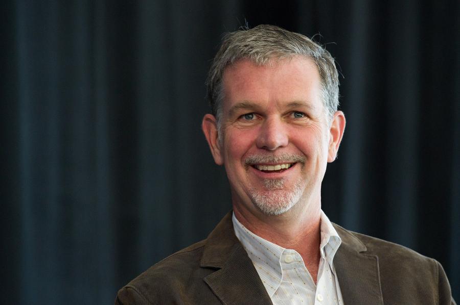 Reed Hastings z Netfix.