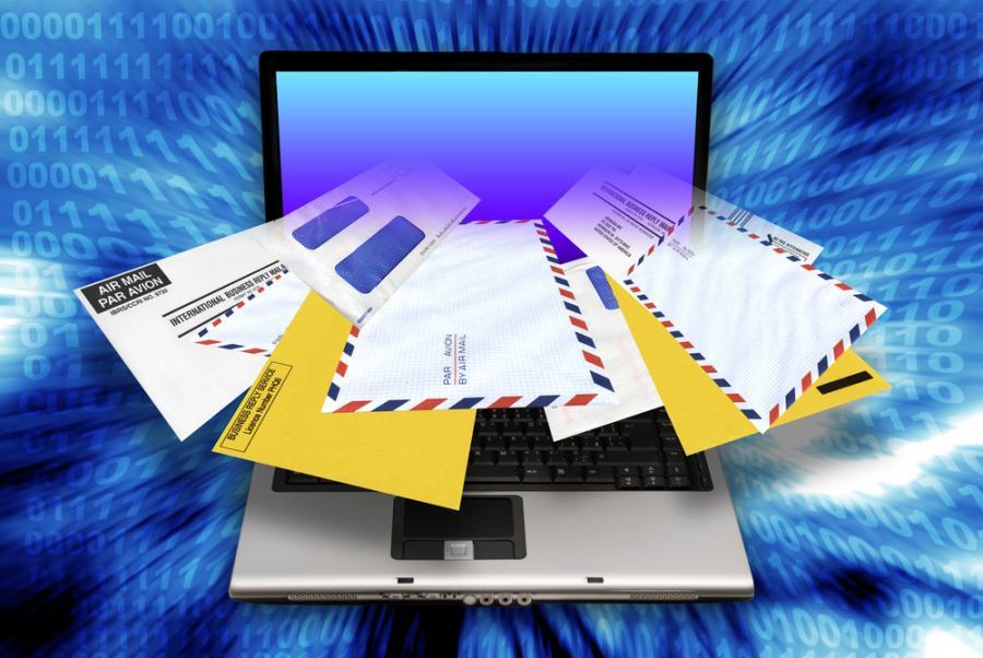 spam, e-mail, komputer