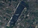 Powódź w Tajlandii. Zalane lotnisko Don Muang Fot. dzięki uprzejmości NASA / JPL-Caltech