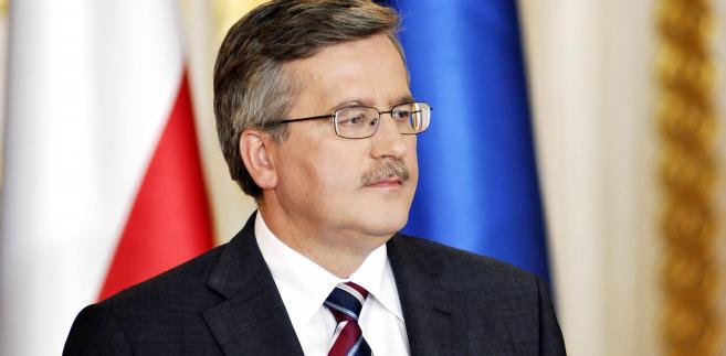 """""""Łatwo jest rozmawiać o roli banków centralnych, o roli także w zakresie przezwyciężania kryzysu w Polsce"""" - twierdzi Bronisław Komorowski"""