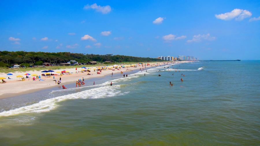 Myrtle Beach, Południowa Karolina - Stany Zjednoczone. Fot.flickr/pquan