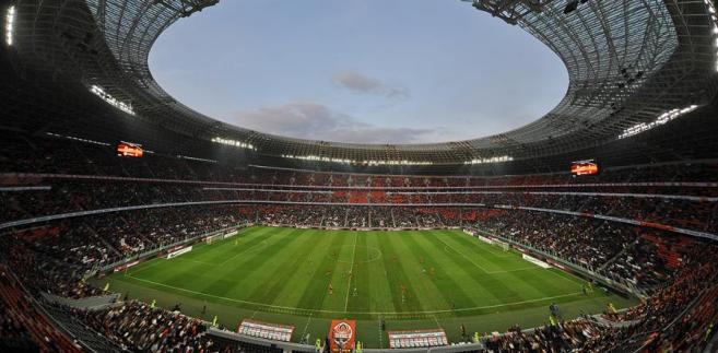 Stadion Donbas Arena w Doniecku, Ukraina