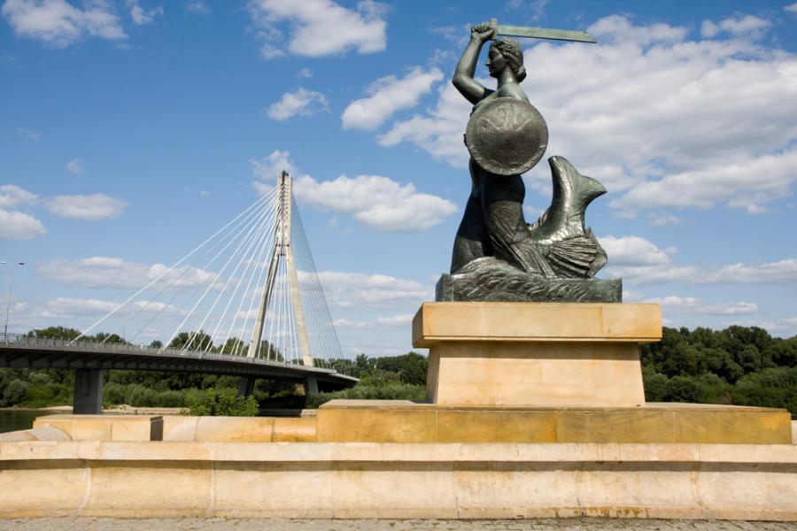 Pomnik Syrenki na Powiślu, Warszawa