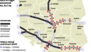Wykaz miejsc obsługi podróżnych (MOP)