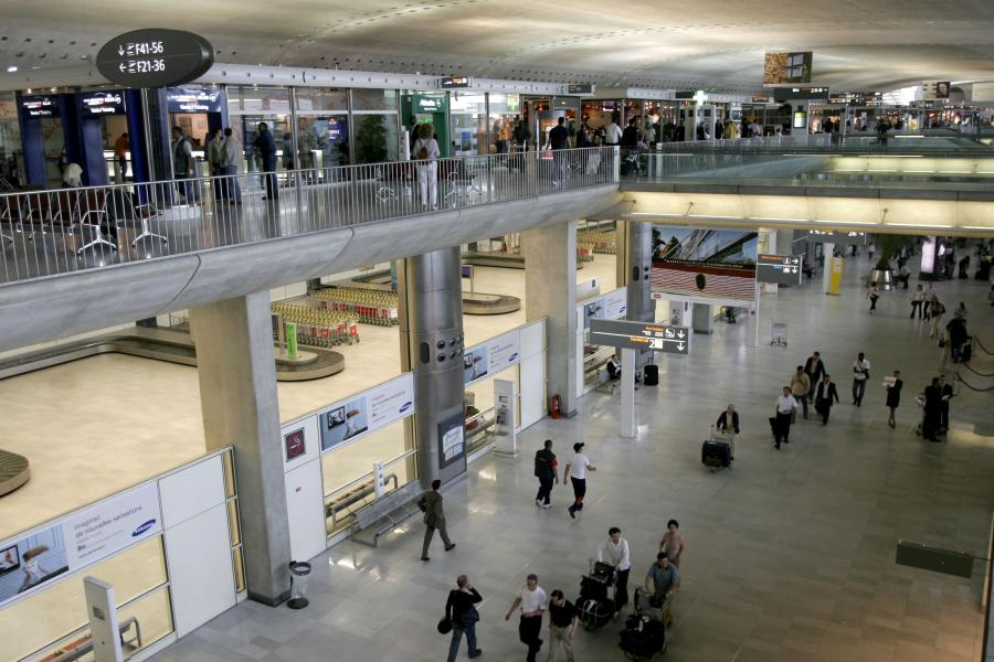 Lotnisko Charlesa de Gaulle'a w Paryżu