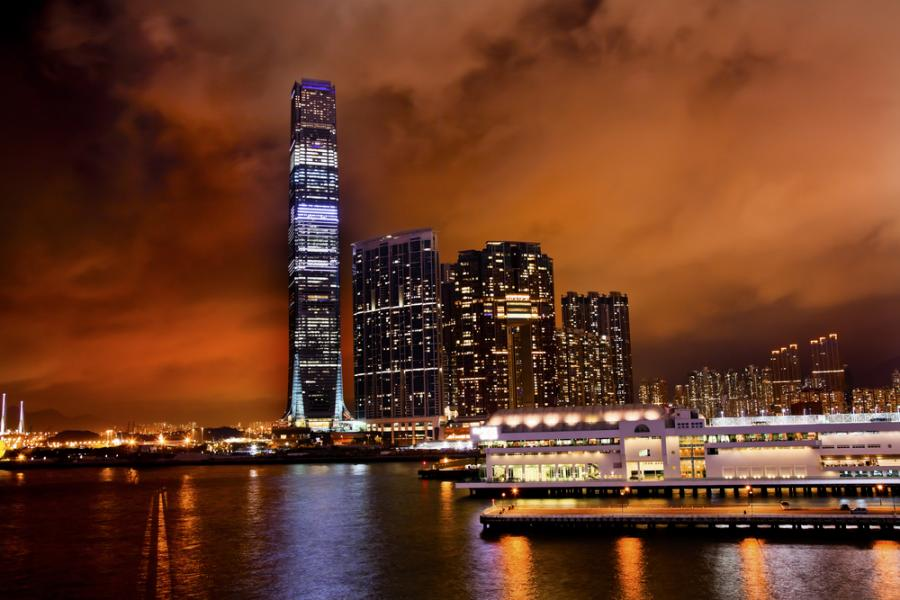 International Commerce Centre w Hongkongu
