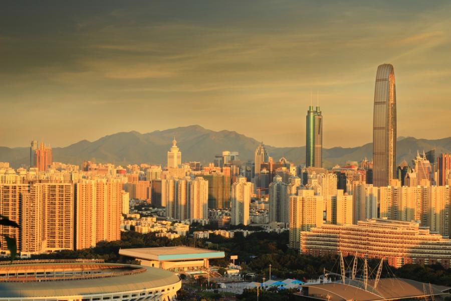 Kingkey 100 w Shenzen w Chinach