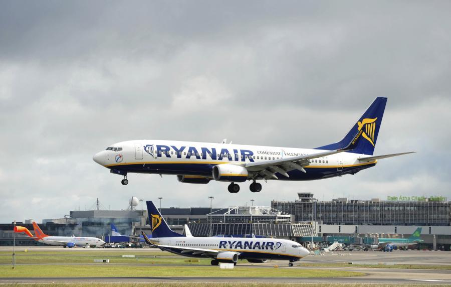 Samolot linii Ryanair.