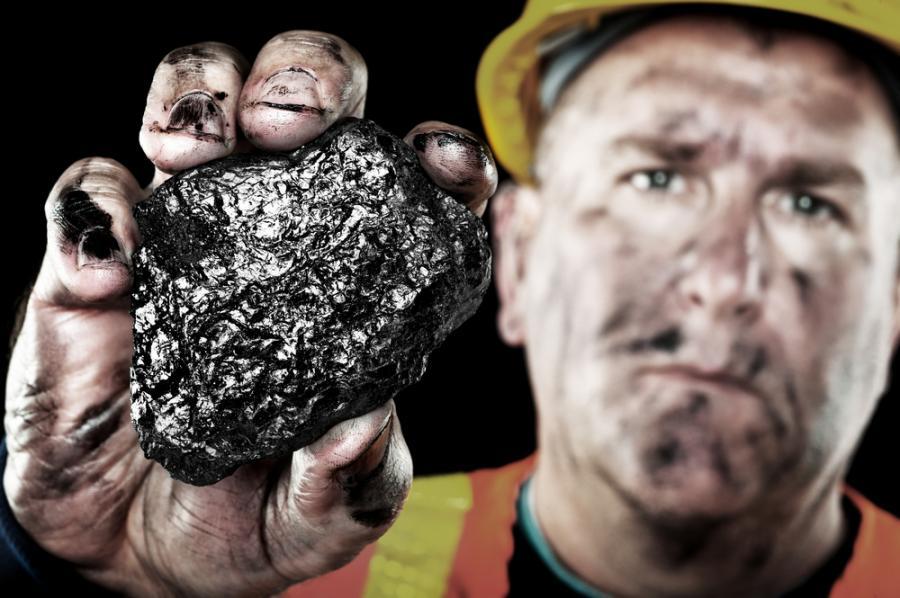 węgiel, górnik, kopalnia